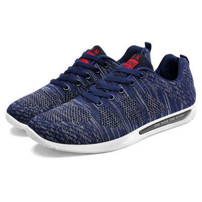 Male Simple Ultralight Breathable Stylish Sports Sneakers