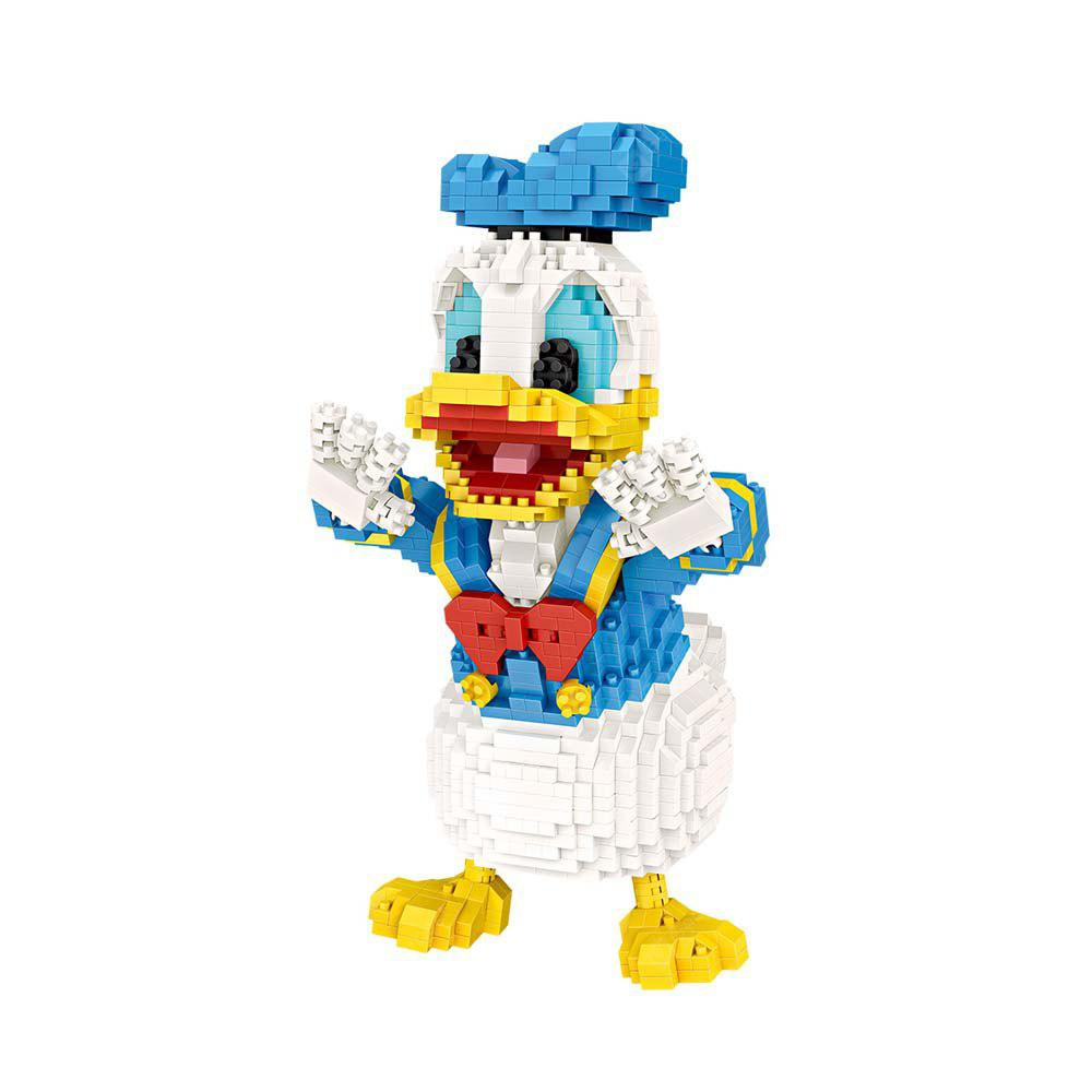 Buy ABS Building Block Toy Cartoon Duck COLORMIX