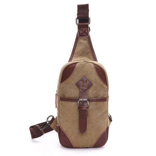 Thick Canvas Chest Bag