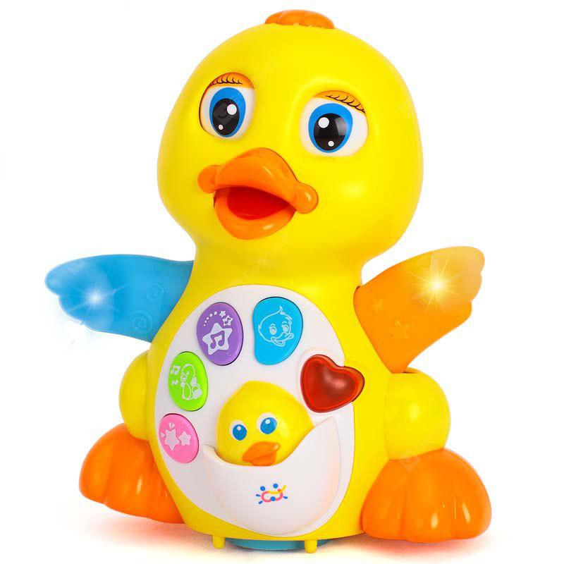 Buy Music Electric Puzzle Dancing Toy Swing Duck Baby COLORMIX