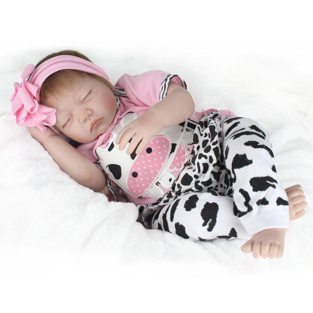 Fashion Simulation Reborn Baby Doll for Kids - COLORMIX