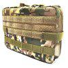 Multifunctional Nylon Tactical Accessory Bag for Outdoor Use - CP CAMOUFLAGE