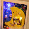 DIY Miniature Folding Photo Frame Style Dollhouse Toy - COLORMIX