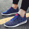 Male Simple Ultralight Breathable Stylish Sports Sneakers - BLUE