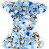 Monkey Pattern Baby Swim Diaper Leakproof Infant Nappy - COLORMIX