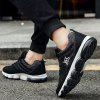 Male Breathable Soft Ultralight Air Cushion Athletic Shoes - BLACK