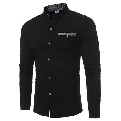 Classic Simple Long Sleeve Shirt