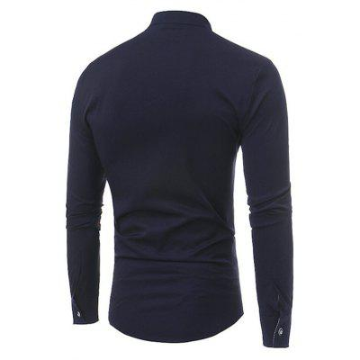 Classic Simple Long Sleeve ShirtMens Shirts<br>Classic Simple Long Sleeve Shirt<br><br>Material: Cotton, Cotton, Nylon, Nylon<br>Package Contents: 1 x Shirt, 1 x Shirt<br>Package size: 40.00 x 30.00 x 4.00 cm / 15.75 x 11.81 x 1.57 inches, 40.00 x 30.00 x 4.00 cm / 15.75 x 11.81 x 1.57 inches<br>Package weight: 0.4200 kg, 0.4200 kg<br>Product weight: 0.4000 kg, 0.4000 kg