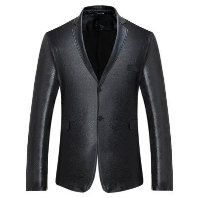 Classic Slim Fit Two Buttons Blazer Jacket