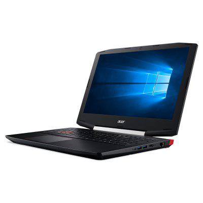 Acer VX5 - 591G - 547B Gaming LaptopLaptops<br>Acer VX5 - 591G - 547B Gaming Laptop<br><br>3.5mm Headphone Jack: Yes<br>AC adapter: 100-240V / 19.5V 7.7A<br>Backlight Type: Red light<br>Battery Type: 10.8V / 4605mAh,  Li-ion battery<br>Bluetooth: 4.0<br>Brand: ACER<br>Caching: 6MB<br>Camera type: Single camera<br>Charging Time.: 2-3 hours<br>Core: 2.5GHz, Quad Core<br>CPU: Intel Core i5-7300HQ<br>CPU Brand: Intel<br>CPU Series: Core i5<br>Display Ratio: 16:9<br>English Manual: 1<br>External Memory: SD card up to 128GB (not included)<br>Front camera: 720P<br>Graphics Capacity: 4G<br>Graphics Chipset: GTX1050Ti<br>Graphics Type: Graphics Card<br>Hard Disk Interface Type: M.2,SATA 3.0<br>Hard Disk Memory: 1T HDD+128SSD<br>HDMI: Yes<br>LAN Card: Yes<br>Languages: Windows OS is built-in Chinese pack.<br>Largest RAM Capacity: 32GB<br>Material of back cover: Plastic<br>MIC: Supported<br>Model: VX5 - 591G - 547B<br>MS Office format: Word, PPT, Excel<br>Notebook: 1<br>OS: Windows 10<br>Package size: 54.30 x 33.00 x 8.50 cm / 21.38 x 12.99 x 3.35 inches<br>Package weight: 4.0400 kg<br>Picture format: GIF, PNG, JPG, JPEG, BMP<br>Power Adapter: 1<br>Power Cable: 1<br>Power Consumption: 45W<br>Process Technology: 14nm<br>Product size: 38.90 x 26.55 x 2.89 cm / 15.31 x 10.45 x 1.14 inches<br>Product weight: 2.5000 kg<br>RAM: 8GB<br>RAM Slot Quantity: Two<br>RAM Type: DDR4<br>RJ45 connector: Yes<br>Screen resolution: 1920 x 1080 (FHD)<br>Screen size: 15.6 inch<br>Screen type: LED<br>SD Card Slot: Yes<br>Skype: Supported<br>Speaker: Supported<br>Standby time: 6 hours<br>Support Network: Dual WiFi 2.4GHz/5.0GHz<br>Threading: 4<br>Type: Gaming Laptop<br>Type-C: Yes<br>Usage: Game<br>USB Host: Yes 1 ? USB2.0+2?USB3.0<br>WLAN Card: Yes<br>Youtube: Supported