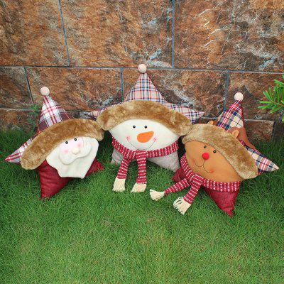 MCYH 284 1PC Christmas Doll Throw Pillow Decoration Gift