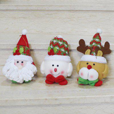 MCYH285 1PC Santa Claus Snowman Elk Shapes Decorations