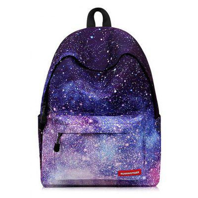Creative Fashionable Starry Sky School Traveling Backpack