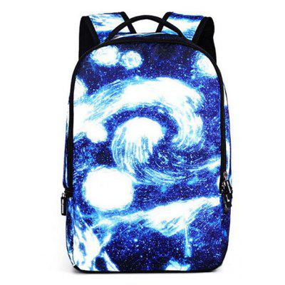 Fashionable Leisure Starry Sky Backpack