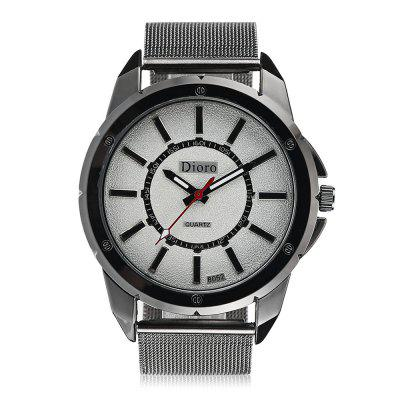 Chic Quartz Watch with Steel Net Band for MenMens Watches<br>Chic Quartz Watch with Steel Net Band for Men<br><br>Band material: Steel<br>Band size: 23.5 x 2.2cm<br>Case material: Alloy<br>Clasp type: Pin buckle<br>Dial size: 4.5 x 4.5 x 1cm<br>Display type: Analog<br>Movement type: Quartz watch<br>Package Contents: 1 x Watch, 1 x Box<br>Package size (L x W x H): 8.50 x 8.00 x 5.50 cm / 3.35 x 3.15 x 2.17 inches<br>Package weight: 0.1030 kg<br>Product size (L x W x H): 23.50 x 4.50 x 1.00 cm / 9.25 x 1.77 x 0.39 inches<br>Product weight: 0.0680 kg<br>Shape of the dial: Round<br>Watch mirror: Acrylic<br>Watch style: Fashion<br>Watches categories: Men