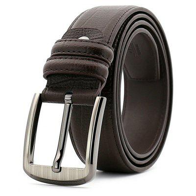All-match Leisure Genuine Leather Men Trouser Belt