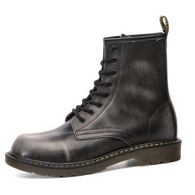Fashionable Genuine Leather Martin Boots for MenMens Boots<br>Fashionable Genuine Leather Martin Boots for Men<br><br>Closure Type: Lace-Up<br>Contents: 1 x Pair of Shoes<br>Function: Slip Resistant<br>Materials: Genuine Leather, Rubber<br>Occasion: Casual<br>Outsole Material: Rubber<br>Package Size ( L x W x H ): 33.00 x 23.00 x 16.00 cm / 12.99 x 9.06 x 6.3 inches<br>Pattern Type: Solid<br>Seasons: Autumn,Spring,Winter<br>Style: Fashion, Casual<br>Type: Boots<br>Upper Material: Genuine Leather