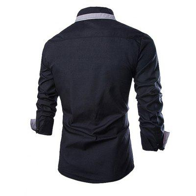 Stylish Joint Long SLeeves Shirt for MenMens Shirts<br>Stylish Joint Long SLeeves Shirt for Men<br><br>Material: Cotton<br>Package Contents: 1 x Shirt, 1 x Shirt<br>Package size: 35.00 x 25.00 x 2.00 cm / 13.78 x 9.84 x 0.79 inches, 35.00 x 25.00 x 2.00 cm / 13.78 x 9.84 x 0.79 inches<br>Package weight: 0.2800 kg, 0.2800 kg<br>Product weight: 0.2500 kg