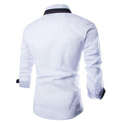 Stylish Joint Long SLeeves Shirt for MenMens Shirts<br>Stylish Joint Long SLeeves Shirt for Men<br><br>Material: Cotton<br>Package Contents: 1 x Shirt<br>Package size: 35.00 x 25.00 x 2.00 cm / 13.78 x 9.84 x 0.79 inches<br>Package weight: 0.2800 kg<br>Product weight: 0.2500 kg