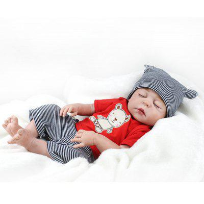 Simulation Reborn Boy Doll Intelligent Baby Educational Toy for Kids