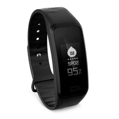 L8STAR R1 Heart Rate SmartbandSmart Watches<br>L8STAR R1 Heart Rate Smartband<br><br>Alert type: Vibration<br>Band material: TPU<br>Band size: 22 x 2.0 cm<br>Battery  Capacity: 80mAh<br>Bluetooth calling: Phone call reminder<br>Bluetooth Version: Bluetooth 4.0<br>Brand: L8STAR<br>Built-in chip type: NRF51822<br>Case material: Plastic<br>Charging Time: About 1.5 Hours<br>Compatability: Android 4.4 or above and iOS 8.0 or above<br>Compatible OS: Android, IOS<br>Dial size: 4.4 x 2.0 x 1.2 cm<br>Find phone: Yes<br>Health tracker: Blood Oxygen,Blood Pressure,Heart rate monitor,Pedometer,Sleep monitor<br>IP rating: IP65<br>Language: English,Simplified Chinese<br>Messaging: Message reminder<br>Notification type: Twitter, Facebook, WhatsApp, Wechat<br>Operating mode: Touch Key<br>Other Function: Alarm<br>Package Contents: 1 x Wristband, 1 x English Manual, 1 x Charging Cable<br>Package size (L x W x H): 8.20 x 3.00 x 12.50 cm / 3.23 x 1.18 x 4.92 inches<br>Package weight: 0.0640 kg<br>People: Female table,Male table<br>Product size (L x W x H): 22.00 x 2.00 x 1.20 cm / 8.66 x 0.79 x 0.47 inches<br>Product weight: 0.0210 kg<br>Remote control function: Remote Camera<br>Screen: OLED<br>Screen size: 0.96 inch<br>Shape of the dial: Rectangle<br>Standby time: 7 - 10 days<br>Type of battery: Lithium-ion polymer battery