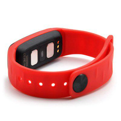 L8STAR R11 ECG SmartbandSmart Watches<br>L8STAR R11 ECG Smartband<br><br>Alert type: Vibration<br>Band material: TPU<br>Band size: 22.0 x 2.0 cm<br>Battery  Capacity: 80mAh<br>Bluetooth calling: Phone call reminder<br>Bluetooth Version: Bluetooth 4.0<br>Brand: L8STAR<br>Built-in chip type: NRF52832<br>Case material: Plastic<br>Charging Time: About 1.5 Hours<br>Compatability: Android 4.4 or above and iOS 8.0 or above<br>Compatible OS: IOS, Android<br>Dial size: 4.58 x 2.05 x 1.05 cm<br>Find phone: Yes<br>Health tracker: Blood Pressure,Heart rate monitor,Pedometer,Sleep monitor<br>IP rating: IP65<br>Locking screen: 2<br>Messaging: Message reminder<br>Notification type: WhatsApp, Wechat, Facebook, Twitter<br>Operating mode: Touch Key<br>Package Contents: 1 x Wristband, 1 x Charging Cable, 1 x English Manual<br>Package size (L x W x H): 8.20 x 3.00 x 12.50 cm / 3.23 x 1.18 x 4.92 inches<br>Package weight: 0.0640 kg<br>People: Female table,Male table<br>Product size (L x W x H): 22.00 x 2.05 x 1.05 cm / 8.66 x 0.81 x 0.41 inches<br>Product weight: 0.0220 kg<br>RAM: 64K<br>Remote control function: Remote Camera<br>ROM: 512K<br>Screen: OLED<br>Screen size: 0.96 inch<br>Shape of the dial: Rectangle<br>Standby time: 5 days<br>Type of battery: Lithium-ion polymer battery<br>Waterproof: Yes