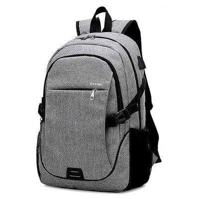 Buy GRAY Leisure Business Laptop Computer Backpack for Men for $23.57 in GearBest store