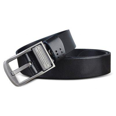 Alloy Buckle Genuine Leather Material Waist Belt for Men