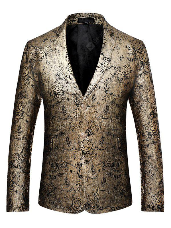 Male Stylish Two Buttons Blazer Jacket