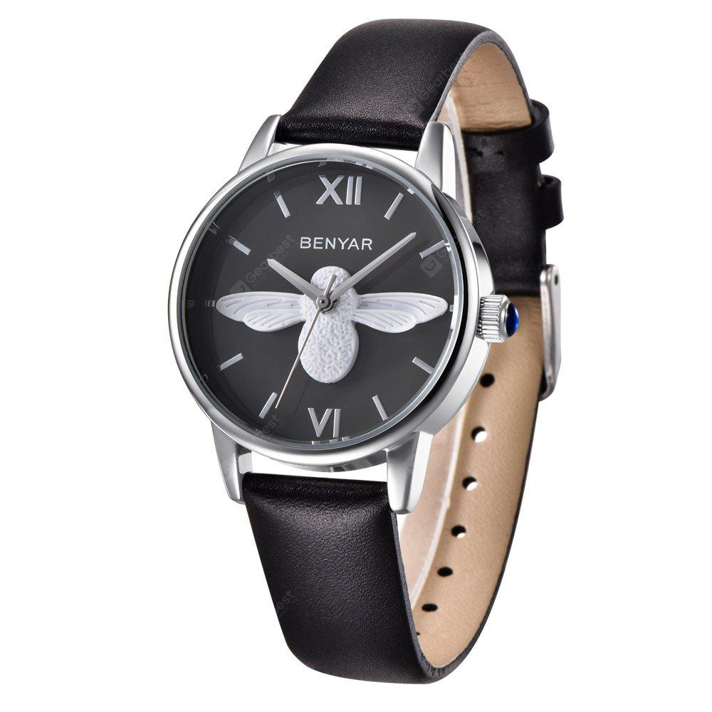 BENYAR 4477 Fashion Pin Buckle Wristwatch for Women