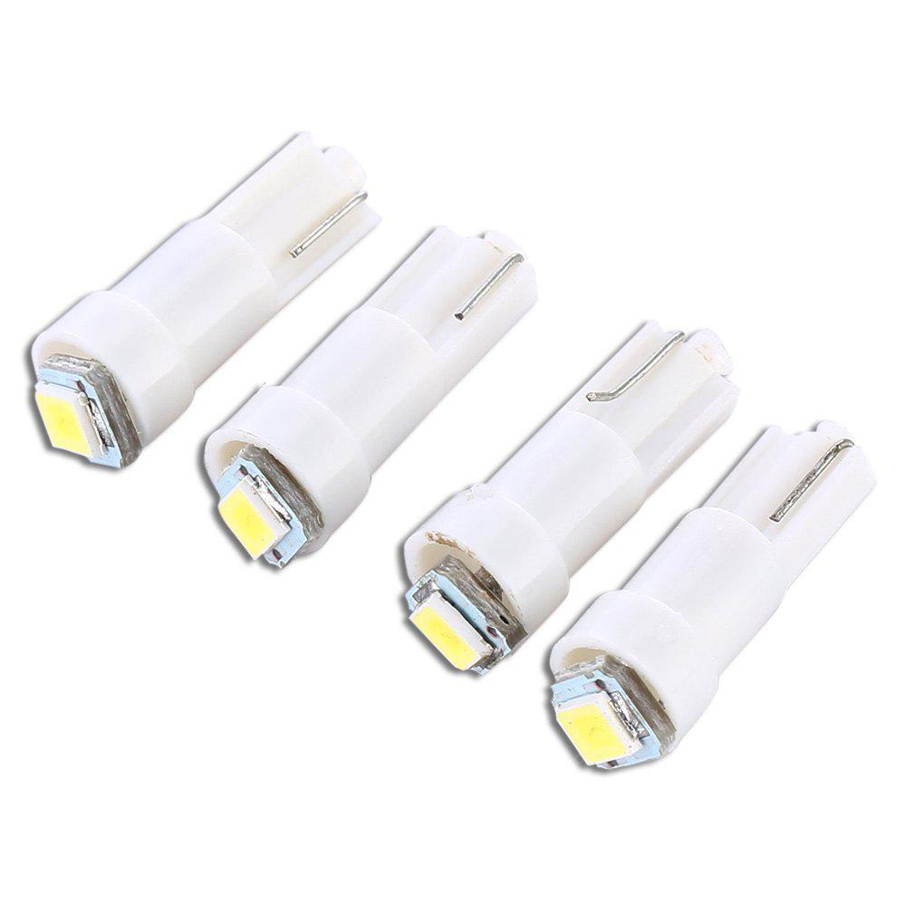 Sencart 4PCS T5 12V 2835 SMD LED Car Light Bulb