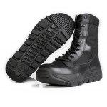 Free Soldier Male Outdoor Military Breathable Tactical Boots - BLACK