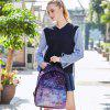 Creative Fashionable Starry Sky School Traveling Backpack - PURPLE
