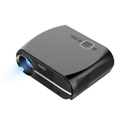 VIVIBRIGHT GP100 Projector vivibright gp5s mini led projector 320x240 80ansi lumens