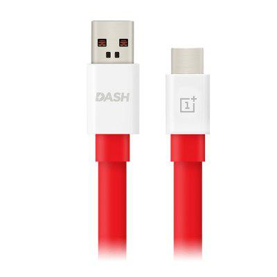 Original OnePlus Dash Type-C USB Data Sync Charging CableChargers &amp; Cables<br>Original OnePlus Dash Type-C USB Data Sync Charging Cable<br><br>Brand: OnePlus<br>Cable Length (cm): 100cm<br>Interface Type: USB 2.0, USB Type-C<br>Material ( Cable&amp;Adapter): PC, TPE<br>Package Contents: 1 x 100cm USB Cable<br>Package size (L x W x H): 9.40 x 9.20 x 2.60 cm / 3.7 x 3.62 x 1.02 inches<br>Package weight: 0.0510 kg<br>Product Size(L x W x H): 100.00 x 1.40 x 0.60 cm / 39.37 x 0.55 x 0.24 inches<br>Product weight: 0.0410 kg<br>Type: Cable