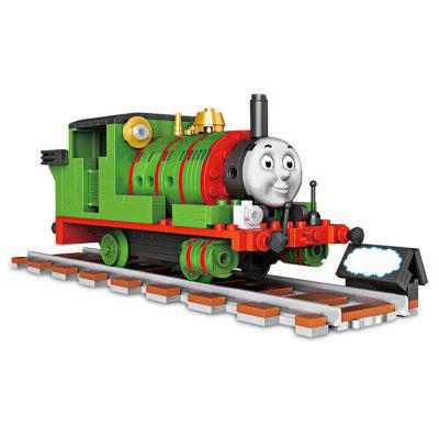LOZ ABS Train Building Block Toy