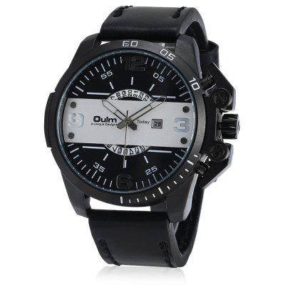 Oulm 3745 Male Quartz Watch