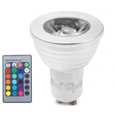5 x YouOKLight RGB GU10 3W 240LM LED Spotlight Remote Control