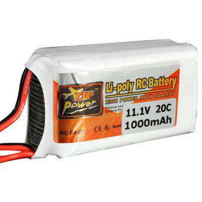 ZOP Power Batterie LiPo 11.1V 1000mAh 20C