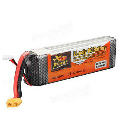 ZOP Power 11.1V 4200mAh 40C LiPo Battery
