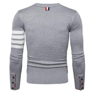 Casual Long Sleeves V Neck Cardigan for MenMens Sweaters &amp; Cardigans<br>Casual Long Sleeves V Neck Cardigan for Men<br><br>Material: Cotton, Polyamide<br>Package Contents: 1 x Cardigan<br>Package size: 40.00 x 30.00 x 4.00 cm / 15.75 x 11.81 x 1.57 inches<br>Package weight: 0.6200 kg<br>Product weight: 0.6000 kg