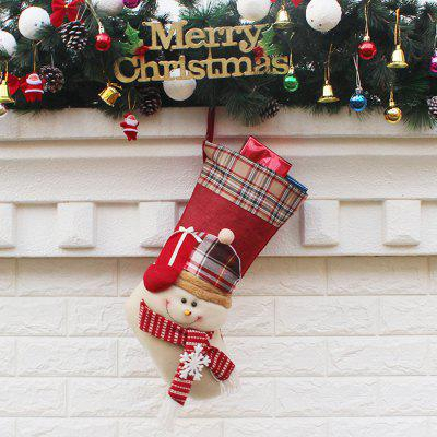 Christmas Snowman Shape Hanging Decorations SocksChristmas Supplies<br>Christmas Snowman Shape Hanging Decorations Socks<br><br>For: All, Friends, Kids, Sisters<br>Material: Nonwoven<br>Package Contents: 1 x Christmas Stocking<br>Package size (L x W x H): 48.00 x 26.50 x 2.00 cm / 18.9 x 10.43 x 0.79 inches<br>Package weight: 0.1100 kg<br>Product weight: 0.1000 kg<br>Usage: Christmas