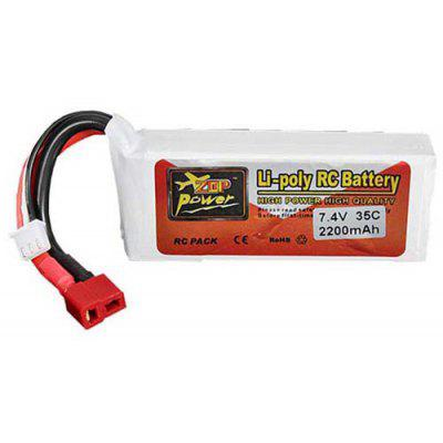 ZOP Power 7.4V 2200mAh 35C LiPo Battery