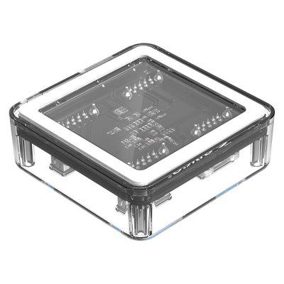 ORICO MH4U - U3 - 03 - CR 4 Ports USB 3.0 Transparent HubUSB Accessories<br>ORICO MH4U - U3 - 03 - CR 4 Ports USB 3.0 Transparent Hub<br><br>Brand Name: ORICO<br>Model: MH4U - U3 - 03 - CR<br>Package size: 22.00 x 11.00 x 5.50 cm / 8.66 x 4.33 x 2.17 inches<br>Package weight: 0.0800 kg<br>Packing List: 1 x MH4U - U3 - 03 - CR USB Hub, 1 x USB Micro Cable ( 30cm )<br>Product size: 11.10 x 9.50 x 4.30 cm / 4.37 x 3.74 x 1.69 inches<br>Product weight: 0.0400 kg<br>Type: Transparent Hub