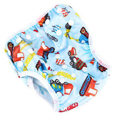 R07 Leakproof Adjustable Baby Swim Diaper for Kids