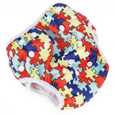 A67 Leakproof Adjustable Baby Swim Diaper for Kids