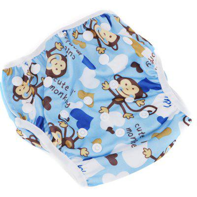 A60 - 1 Leakproof Adjustable Baby Swim Diaper for Kids