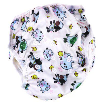 R13 Leakproof Adjustable Baby Swim Diapers for Kids