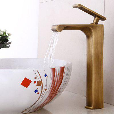 Buy BRONZE-COLORED Hole Spout Bathroom Sink Faucet Brass Basin Taps for $93.86 in GearBest store