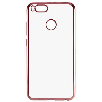Buy ROSE GOLD Luanke TPU Soft Electroplating Phone Case for Xiaomi Mi 5X for $3.01 in GearBest store